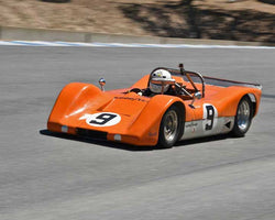 Jerry Pacheco with 1970 Whitfill H Modified in Group 2B - 1947-1955 Sports Racing and GT Cars at the 2015-Rolex Monterey Motorsport Reunion, Mazda Raceway Laguna Seca