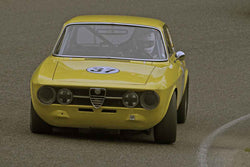 Shelby Clark - 1969 Alfa Romeo GTV in Group 1 at the 2017 SOVREN Spring Sprints run at Pacific Raceways