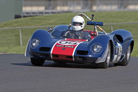 Michael Malone - 1966 Elva Mk8 SR in Group 4 at the 2017 CSRG David Love Memorial - Sears Point Raceway