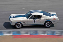 Adam Lindemann - 1965 Shelby GT350R in Group 4B - 1963-1966 GT Cars over 2500cc at the 2017 Rolex Monterey Motorsport Reunion run at Mazda Raceway Laguna Seca