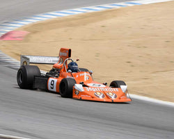 Steve Cook with 1974 March 741 in Group 6 at the 2015 HMSA LSR Invitational II at Mazda Raceway Laguna Seca