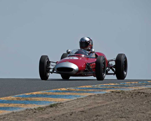 Marty Benck with 1962 Lotus 22 FwithJr. in Group 5 - at the 2016 CSRG David Love Memorial - Sears Point Raceway