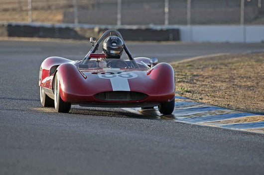 David Martin - 1961 Genie MK IV in Group 4 -  at the 2016 Charity Challenge - Sonoma Raceway
