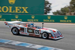 Andre Lara Resende - 1978 Chevron B36 in Group 6A - 1970-1984 Sports Racing Cars under 2100cc at the 2017 Rolex Monterey Motorsport Reunion run at Mazda Raceway Laguna Seca