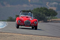 Jon Lecarner - 1951 Allard K2 in Group 5A - 1947-1955 Sports Racing and GT Cars at the 2017 Rolex Monterey Motorsport Reunion run at Mazda Raceway Laguna Seca