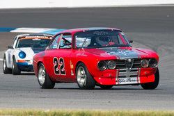 Rob Davenport - 1972 Alfa Romeo GTV - Group 8 at the 2017 Brickyard Vintage Racing Invitational run at Indianapolis Motor Speedway