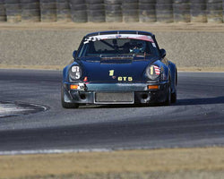 Paul Young with 1978 Porsche 911 SC in Group 1 - PCA Sholar-Friedman Cup at the 2015 Rennsport Reunion V, Mazda Raceway Laguna Seca