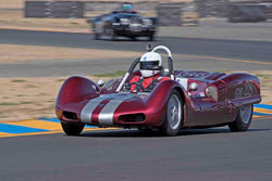 Charles Smith - 1962 Elva Mk 6 in Group 1 - 1959-65 Sports Racing Cars at the 2017 CSRG Charity Challenge run at Sonoma Raceway