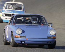 David Holden with 1967 Porsche 911withDSC in  Group 3 at the 2015 Season Finale at Thunderhill Raceway