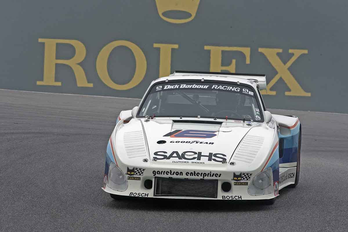 Jeff Lewis - 1980 Porsche 935 K3 in Group 4A  at the 2016 Rolex Monterey Motorsport Reunion - Mazda Raceway Laguna Seca