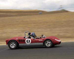 Diane Alder with 1962 MILLER SR in  Group 4 at the 2015 Season Finale at Thunderhill Raceway
