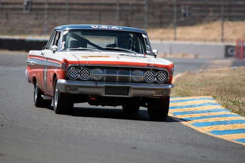 Roland Malschafsky with 1964 Mercury Comet Caliente in Group 6 -  at the 2016 SVRA Sonoma Historics - Sears Point Raceway