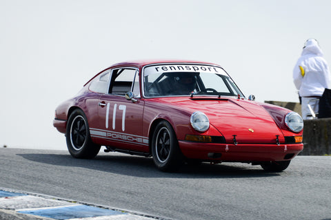 Doug Sallen - 1967 Porsche 911S in Group 6 at the 2017 HMSA Spring Club Event - Mazda Raceway Laguna Seca