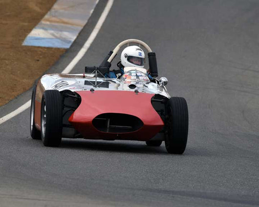 Steve Kupferman with 1958 V.A.Y. Special in  Group 1 at the 2015 Season Finale at Thunderhill Raceway