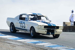 Lindsay Ross - 1966 Shelby GT350 in Group 7 at the 2017 HMSA Spring Club Event - Mazda Raceway Laguna Seca
