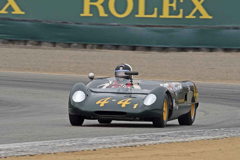 Michael Summers - 1962 Lotus 23B in Group 5A  at the 2016 Rolex Monterey Motorsport Reunion - Mazda Raceway Laguna Seca