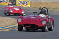 John Miller - 1956 Devin Triumph in 1947-60 Sports Racing & Production Cars - Group 2 at the 2017 SVRA Sonoma Historic Motorsports Festivalrun at Sonoma Raceway