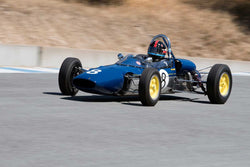 Phillip Ribbs with 1963 Lotus 27 FwithJr in Group 3 -  at the 2016 HMSA LSR II - Mazda Raceway Laguna Seca