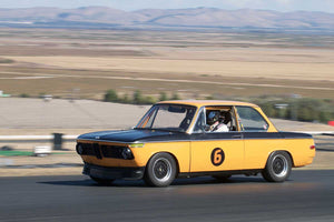 Alec Hugo - 1969 BMW 2002 in Group 8 -  at the 2016 Charity Challenge - Sonoma Raceway