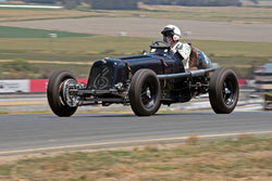 Charles McCabe with 1936 ERA B in Group 1  at the 2016 SVRA Sonoma Historics - Sears Point Raceway