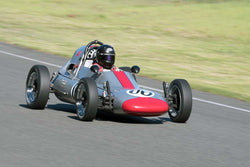 Krista Johnson with 1968 Zink Cwith4 FV in Group 1 - at the 2016 SOVREN Spring Sprints, Pacific Raceway