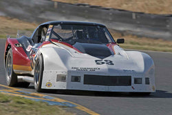 Mike Thurlow - 1976 Chevrolet Corvette in 1970-79 IMSA GT Cars - Group 12 at the 2017 SVRA Sonoma Historic Motorsports Festivalrun at Sonoma Raceway