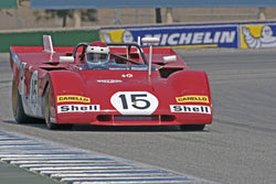Ernie Prisbe - 1971 Ferrari 312PB in Group 3B  at the 2016 Rolex Monterey Motorsport Reunion - Mazda Raceway Laguna Seca
