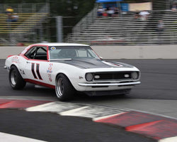 Norman Daniels with 1968 Chevrolet Camaro in Group 5 - WSC and World Manufactuer's Championship 1960-1972 at the 2015 Portland Vintage Racing Festival at Portland International Raceway