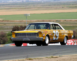 Steven Earle with 1965 Ford Galaxie in Group 5 - Grand National Stock Cars at the 2015 Sonoma Historic Motorsports Festival at Sonoma Raceway