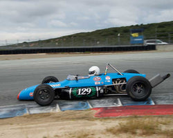David Irwin - 1969 Brabham B29 in Group 7  at the 2016 HMSA Spring Club Event - Mazda Raceway Laguna Seca