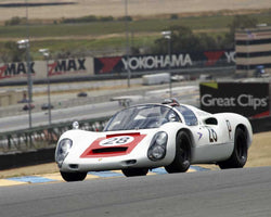 Stephen Thein with 1967 Porsche 910 with DSC in Group 7 - 1959-1966 Sports Racing and 1964-1970 FIA Cars at the 2015 Sonoma Historic Motorsports Festival at Sonoma Raceway