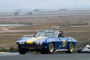 Bruce Miller - 1963 Chevrolet Corvette in Group 3 -  at the 2016 Charity Challenge - Sonoma Raceway