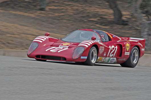 Karim Marouf - 1970 Chevron B16 in Group 3B  at the 2016 Rolex Monterey Motorsport Reunion - Mazda Raceway Laguna Seca