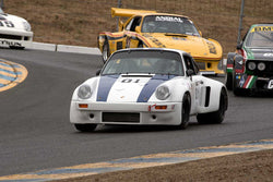 Cameron Healy with 1977 Porsche 911 RSR in Group 12 at the 2016 SVRA Sonoma Historics - Sears Point Raceway