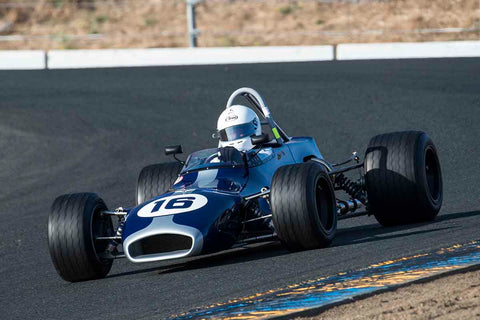 David Smoker - 1971 Brabham BT35 in Group 6B - Formula B at the 2017 CSRG Charity Challenge run at Sonoma Raceway
