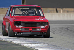 Craig Carter - 1972 Datsun 510 in 1966-1972 Trans-Am 2.5-Litre/Group E at the 2017 SCRAMP Spring Classic run at Mazda Raceway Laguna Seca