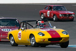 Dale Oesterle - 1965 Lotus Elan S2 - Group 8 at the 2017 Brickyard Vintage Racing Invitational run at Indianapolis Motor Speedway