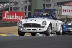 Michael Green - 1966 MGB in 1956-72 Production & GT Cars under 2000cc - Group 9 at the 2017 SVRA Sonoma Historic Motorsports Festivalrun at Sonoma Raceway