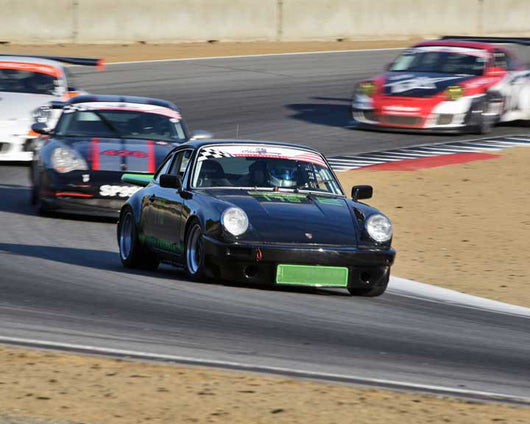 Adam Jaspers with 1978 Porsche 911 in Group 1 - PCA Sholar-Friedman Cup at the 2015 Rennsport Reunion V, Mazda Raceway Lag