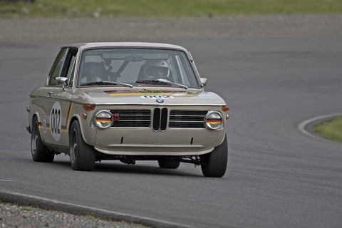 Tom Hufnagi - 1971 BMW 2002 in Group 2 at the 2017 SOVREN Spring Sprints run at Pacific Raceways