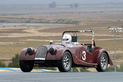 Tom Morgan - 1956 Morgan 4/4 in Group 2 -  at the 2016 Charity Challenge - Sonoma Raceway