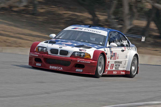 Boris Said - 2001 BMW M3 GTR in Group 5B  at the 2016 Rolex Monterey Motorsport Reunion - Mazda Raceway Laguna Seca