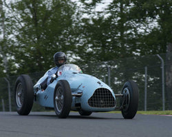 Dennis Bigioni with 1949 Talbot Lago T26 in Group 1 at the 2015 Sommet des Legendes at Mt Tremblant