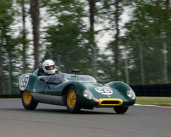 Thor Johnson with 1959 Lotus 17 in Group 1 at the 2015 Sommet des LíÁíÁ__gendes at Mt Tremblant