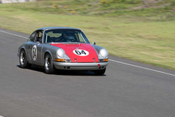 Ron Erickson with 1969 Porsche 911 in Groups 2&3  at the 2016 SOVREN Spring Sprints, Pacific Raceway