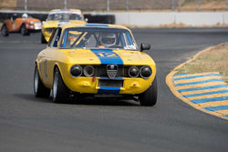 Don Forrester with 1969 Alfa Romeo GTV in Group 9 -  at the 2016 SVRA Sonoma Historics - Sears Point Raceway