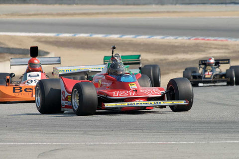 Danny Baker - 1979 Ferrari 312T4 in Group 7B  at the 2016 Rolex Monterey Motorsport Reunion - Mazda Raceway Laguna Seca