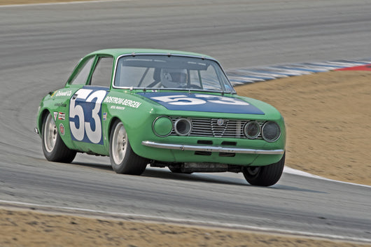 Jon Norman - 1971 Alfa Romeo GTV in Group 3B  at the 2016 Rolex Monterey Motorsport Reunion - Mazda Raceway Laguna Seca