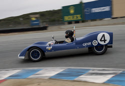 Bob Roth driving his Genie in Group 1 at the 2015 HMSA Spring Club Event at Mazda Raceway Laguna Seca