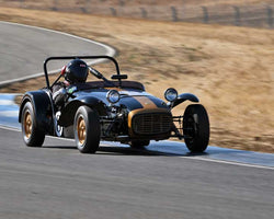 Paul Quackenbush with 1963 Lotus Swith7 in  Group 3 at the 2015 Season Finale at Thunderhill Raceway